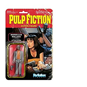 ReAction Pulp Fiction Figura de acción de la Onda 2 Marsellus Wallace 10 cm 4
