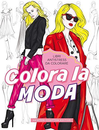 Colora la moda. Libri antistress da colorare