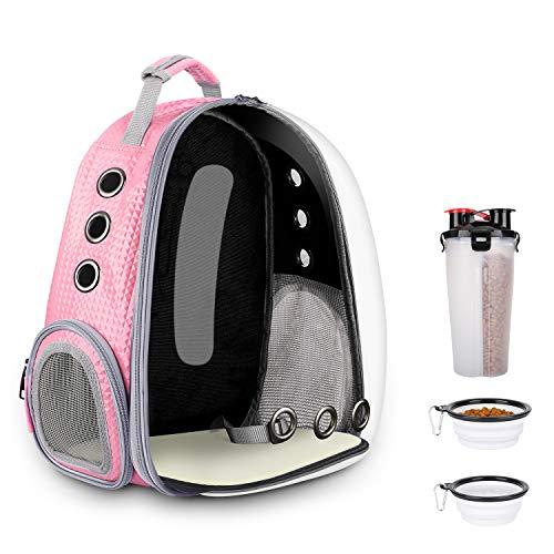 BlitzWolf Anzone Pet Portable Carrier Space Capsule Backpack, Pet Bubble Traveler Knapsack Multiple...