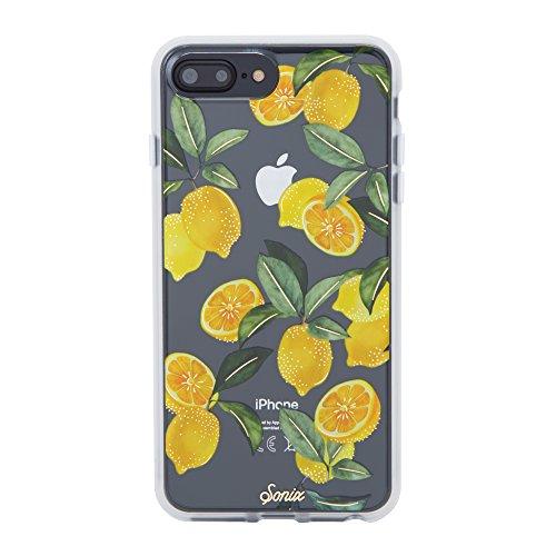 Sonix Lemon Zest Case [Military Drop Test Certified] Sonix Clear Coat Series for Apple iPhone 6 Plus, 6s Plus, 7 Plus, 8 Plus