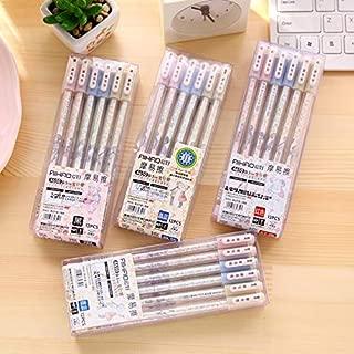 Gel Pens   Aihao 4650 0.5mm Erasable Pen Friction Erase Gel Pen 12 pcs/lot   by CUSODI