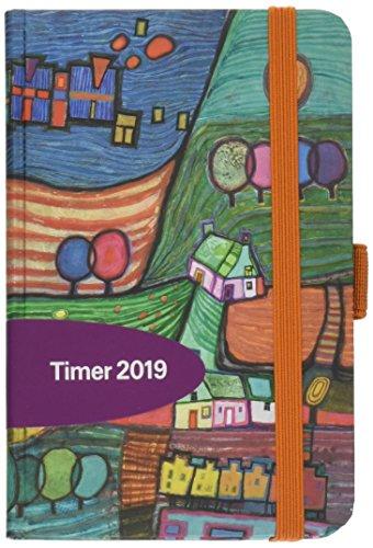 PT Small Stross Landschaft 272819 2019: Buchkalender - Terminplaner mit hochwertiger Folienveredelung und Prägung. 9 x 14 cm