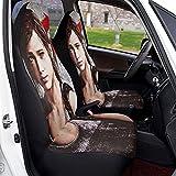 Last Us - Fundas de asiento de coche suaves, cómodas y elásticas, fundas protectoras, adecuadas para...