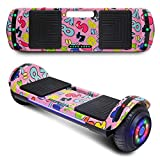 CHO POWER SPORTS 2020 Electric Hoverboard UL Certified Hover Board Electric Scooter with Built in Speaker Smart Self Balancing Wheels (Image Pink)
