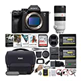 Sony Alpha a7S III Mirrorless Digital Camera with 70-200mm G-Master Lens Bundle (6 Items)