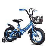 HUAQINEI Bicicletas Plegables 12 14 16 18 Pulgadas, Marco de Alto Carbono para Bicicletas para niños y niñas, Bicicletas para niños de 2 a 13 años, Regalo para niños y niñas