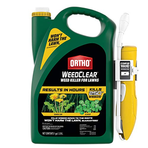 Ortho WeedClear Weed Killer for Lawns: with...