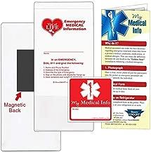 medical information refrigerator magnet