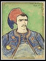 DIY 数字油絵 数字塗り絵 大人の子供のためのギフト デジタル油絵 数字キットでペイント 初心者と大人がキャンバスに番号でペイントすることを目的 - The Zouave.Vincent van Gogh