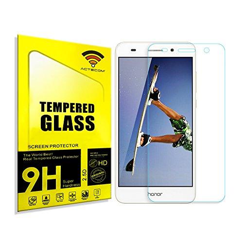 actecom® Protector DE Pantalla Premium para Huawei Honor 5A Cristal Vidrio Templado