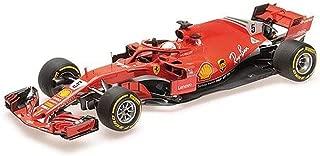 BBR BBR181805 1:18 SF71-H-Scuderia Ferrari-Sebastian Vettel-GP Australia 2018, Red