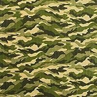 ダブルガーゼ 生地 カモフラージュ 50cm単位販売 布 綿 パジャマ ハンカチ