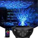 Galaxy Projector Star Projector Night Light with Bluetooth Music Speaker and Remote Control Smart APP Work with Alexa...