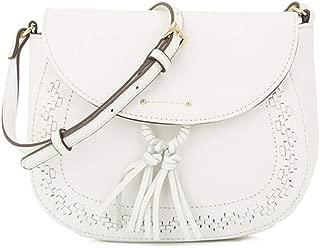 tignanello white leather purse