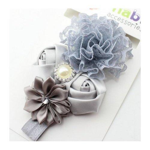 Beau bébé enfant fille enfants Bandeau Cheveux Fleur Accessoires Cheveux