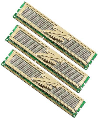 OCZ OCZ3G1600LV6GK PC1600 Arbeitspeicher 6 GB DDR3 RAM Triple Channel Kit, CL8, 3 x 2 GB