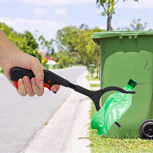 Reaching Assist Tool, Multipurpose Grabber Reacher Tool, Practical Non-Slip Picking up Trash Trash for Gripping Variouse Shapes Objects Pests