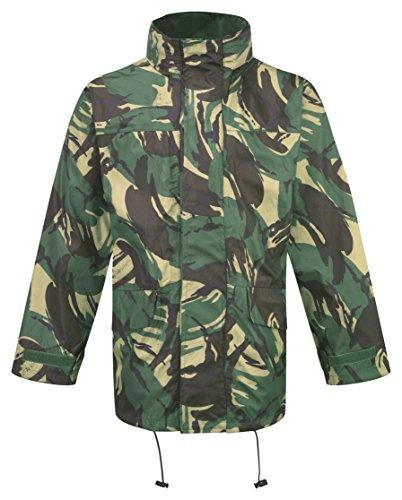 Castle clothing 214 - Mfh castello dpm di abbigliamento britannica giacca impermeabile, multicolore,