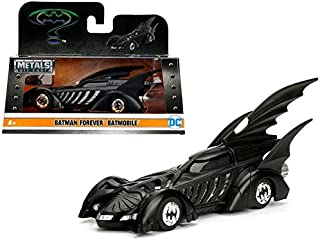 NEW 1:32 JADA TOYS COLLECTION - Matte Black Batman Forever Batmobile Diecast Model Car By Jada Toys