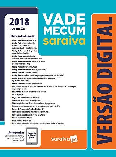 Vade Mecum Saraiva 2018 - Tradicional