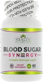 Blood Sugar Syn3rgy Physician Formulated (Berberine, Banaba Leaf, Ceylon Cinnamon) - 60 Capsules