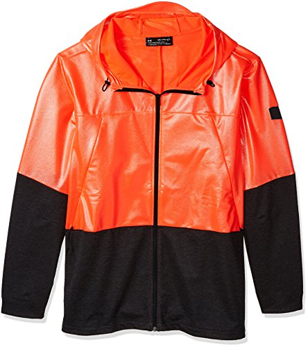 Under Armour Unstoppable Swacket Sudadera, Hombre, Rosa (Neon Coral_986), L