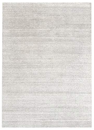 HAMID - Kavir Uni Wollteppich - Weicher Wollteppich - Handgewebt - Wolle flauschig - Teppich für Wohnzimmer, Schlafzimmer, Wohnzimmer Beige (250x300cm)