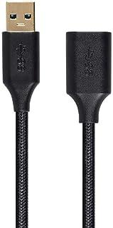 Monoprice USB 3.0 A Male to A Female Premium Extension Black 10 Feet