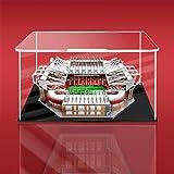 HYZM Vitrina acrílica para Lego Manchester United Stadion Old Trafford, compatible con Avec Lego Creator 10272 (no incluye el modelo Lego)