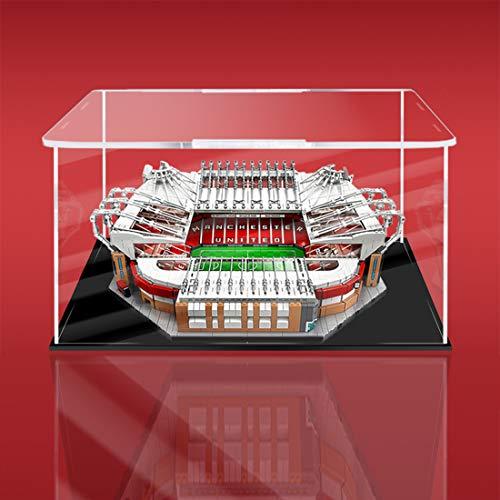 TETAKE Vitrine Staubdicht Acryl HD Display Case für Lego Manchester United Stadion Old Trafford Creator 10272 (Nicht Enthalten Lego Modell)
