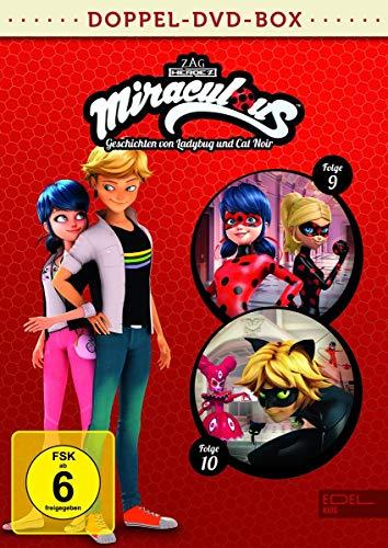 Miraculous - Geschichten von Ladybug und Cat Noir - Doppel-DVD-Box (Folgen 9 + 10)