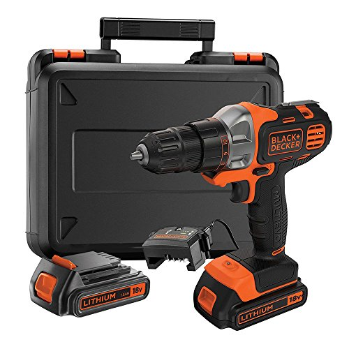 BLACK+DECKER MT218KB-QW Perceuse...