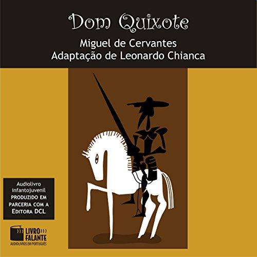 Dom Quixote [Portuguese Edition] audiobook cover art