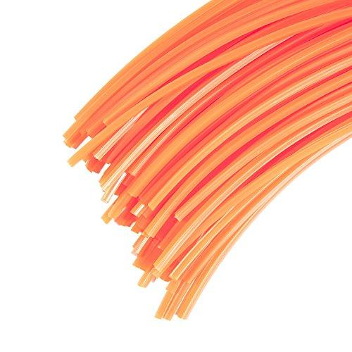30 Brins de fil professionnel 4mm 42cm pour débroussailleuse