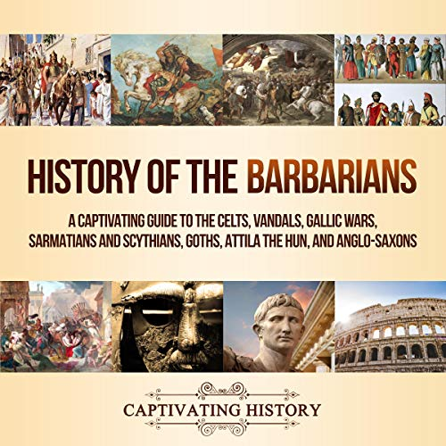 History of the Barbarians audiobook cover art