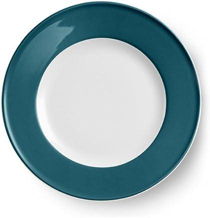 Preisvergleich für Dibbern Solid Color - Teller 28 cm Fahne - Petrol - Neu