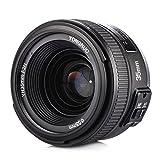 Yongnuo YN35mm F2N Objetivo focal fijo de 35 mm enfoque AF / MF con visión gran angular para cámara Nikon