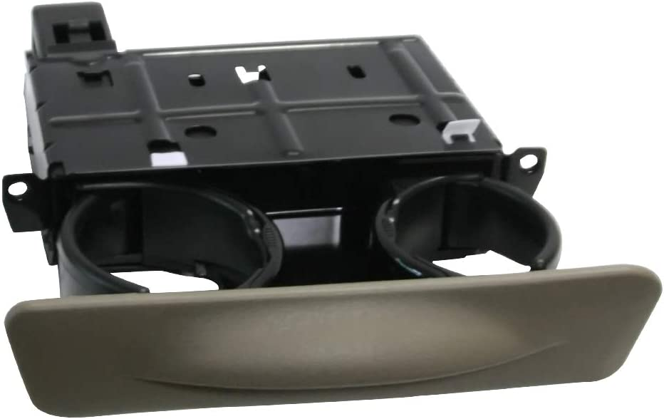 A ABIGAIL Dash Dashboard Cup Holder Replaces YC3Z-2513560-CAB for 2001-2004 Ford Excursion F250 F-250 F350 F-350 F450 F-450 F550 F-550 Super Duty Graphite