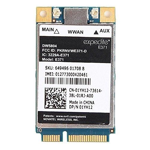 DW5804 4G LTE WWAN Mobile Broadband 01YH12 E371 Mini PCI-E 3G/4G Card Compatible For Dell E6430 E6530 E6230 E6330