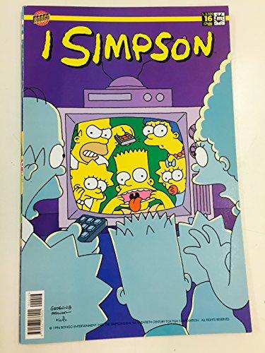I SIMPSON 16 - Simpson in TV - edizione agosto 1999