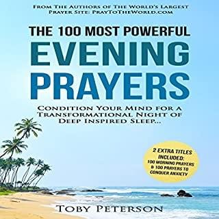 The 100 Most Powerful Evening Prayers audiobook cover art