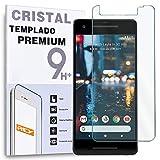 REY Protector de Pantalla para Google Pixel 2 XL / 2XL, Cristal Vidrio Templado Premium