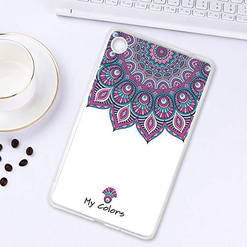 Geschilderde zachte TPU Case Voor Lenovo Tab M7 Case Silicone Fashion Tablet Case Cover Voor Lenovo Tab M7 2e Generatie 7.0 bloem Animal Shell L054