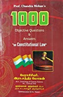 """1000 Objective Questions and Answers on """"Constitutional Law"""" in Tamil"""