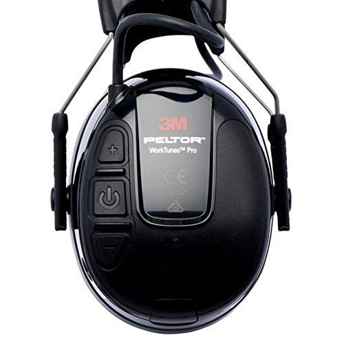 3M Peltor WorkTunes Pro FM Radio Gehörschutz, 32dB - Zuverlässiger Ohrenschutz mit integriertem Radio - Ideal für Forst-, oder Landarbeit und lärmintensive Freizeitaktivitäten - 2
