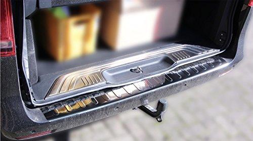 Ladekantenschutz Stoßstange Edelstahl glänzend kompatibel für Vito W447 V-Klasse 2014>