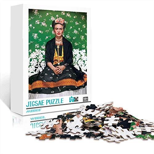 Rompecabezas para adultos 1000 piezas Frida Kahlo educativo intelectual juego de rompecabezas juguetes regalo para la decoración de la pared del hogar