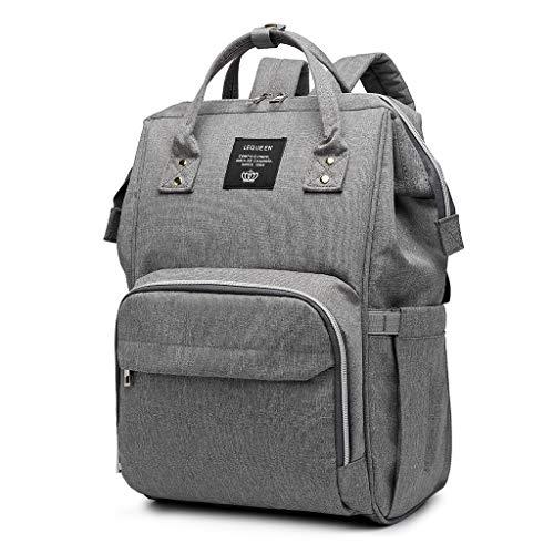 Ping Lequeen Rucksack für Mütter, große Kapazität, Wickeltasche