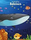 Livre de coloriage Baleines 1