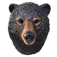アニマルマスク ハロウィン コスプレ グッズ ラテックスマスク ベア 熊 くま マスク かぶりもの おもしろ パーティー コスプレ道具 仮装 小物 仮面